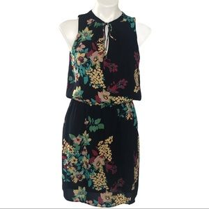 Collective Concepts Sleeveless Navy Floral Dress M